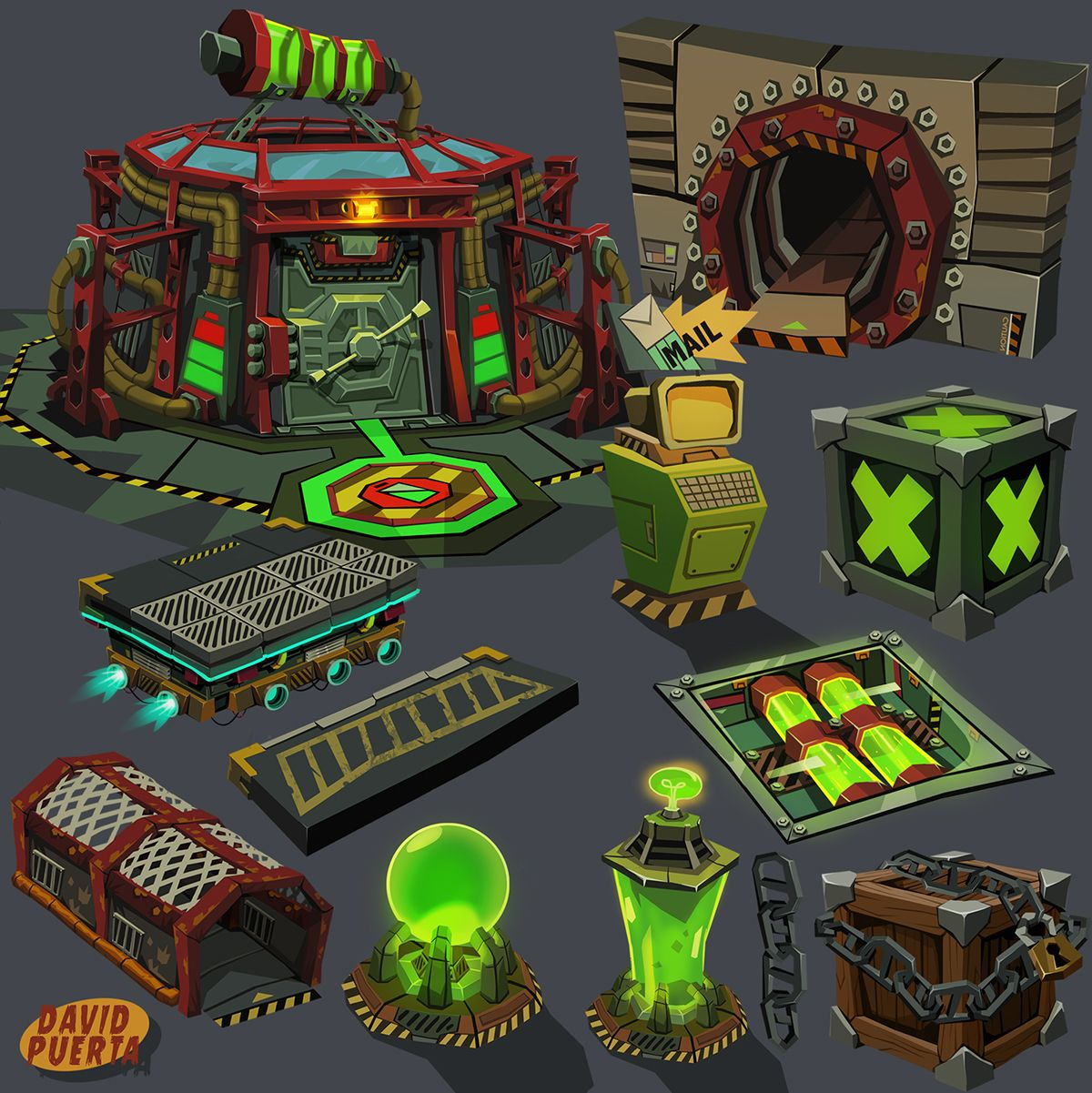 Some Assets For Vesta Max Was The Codename A Videogame That I M