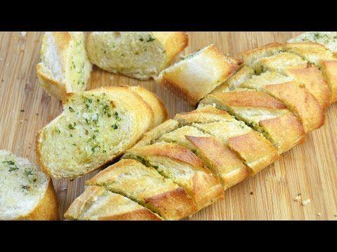 Youtube Recetas De Cocina Faciles   Pan De Ajo Recetas De Cocina Faciles Y Rapidas Youtube