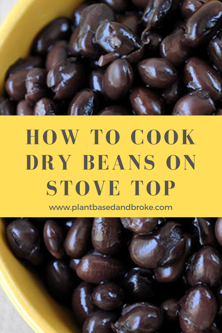 How To Cook Dry Black Beans [No Soak] Dried black beans