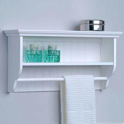 Decorative Wall Shelf With Towel Bar By Taymor Kitchensource