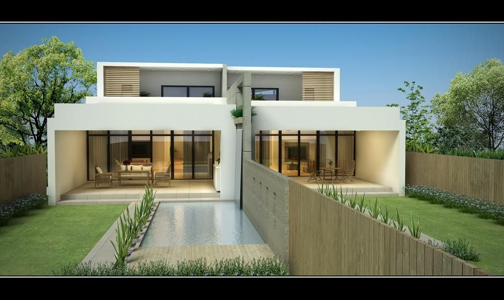 Contemporary duplex sandringham new duplex jr home designs