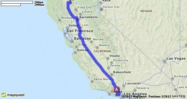 Calabasas California Map on