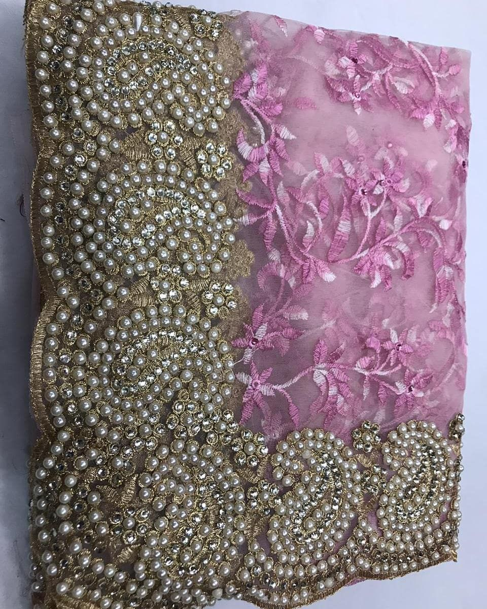 f1e9f94f6d *#Fabric #details 👇🏻* *DN:#HEAVY #WINTER #CARRY* *#FABRIC:NET WITH  #EMBROIDERY HEAVY #MULTY #WORK* *#BLOUS