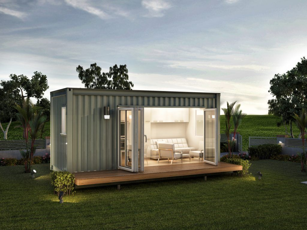 Gallery nova deko modular container homes pinterest for Modular granny flat california