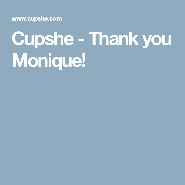 Cupshe - Thank you Monique!