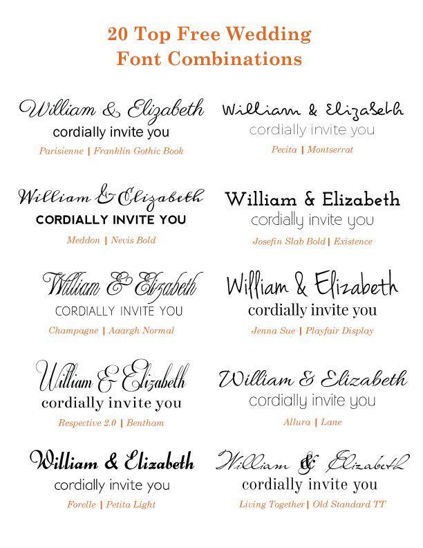 free wedding fonts # 37