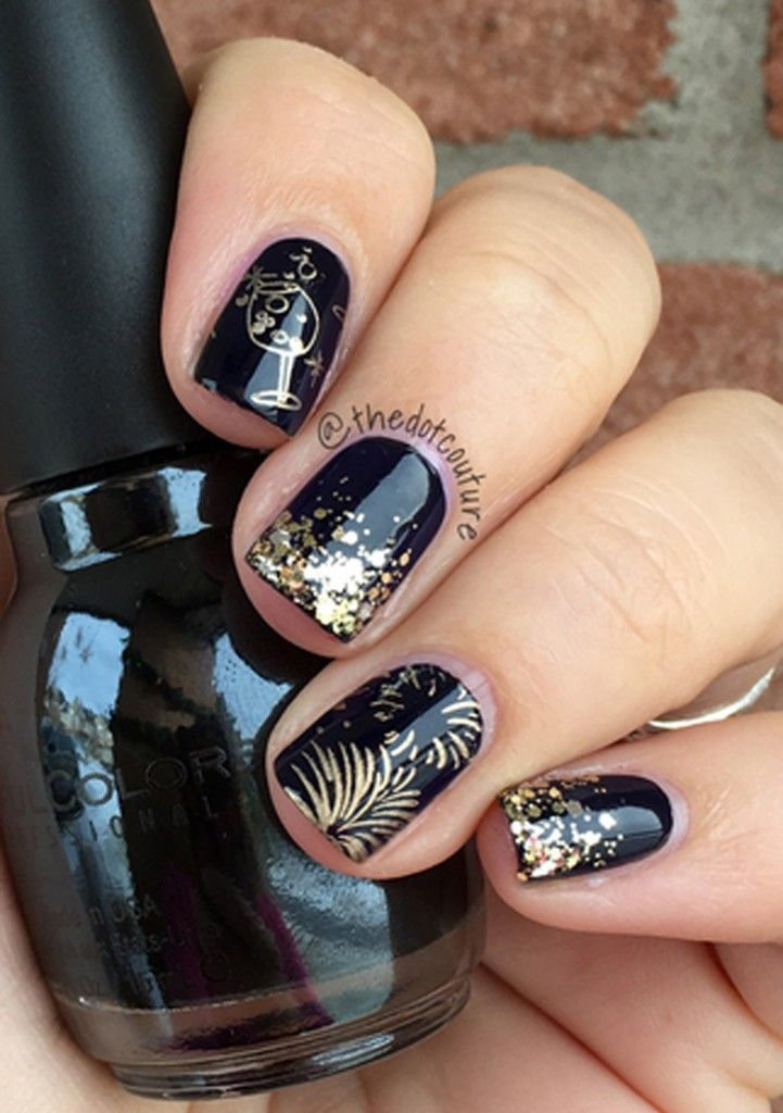 Party | Nail Art | CGH Lifestyle | Pinterest | Fun nails, Manicure ...