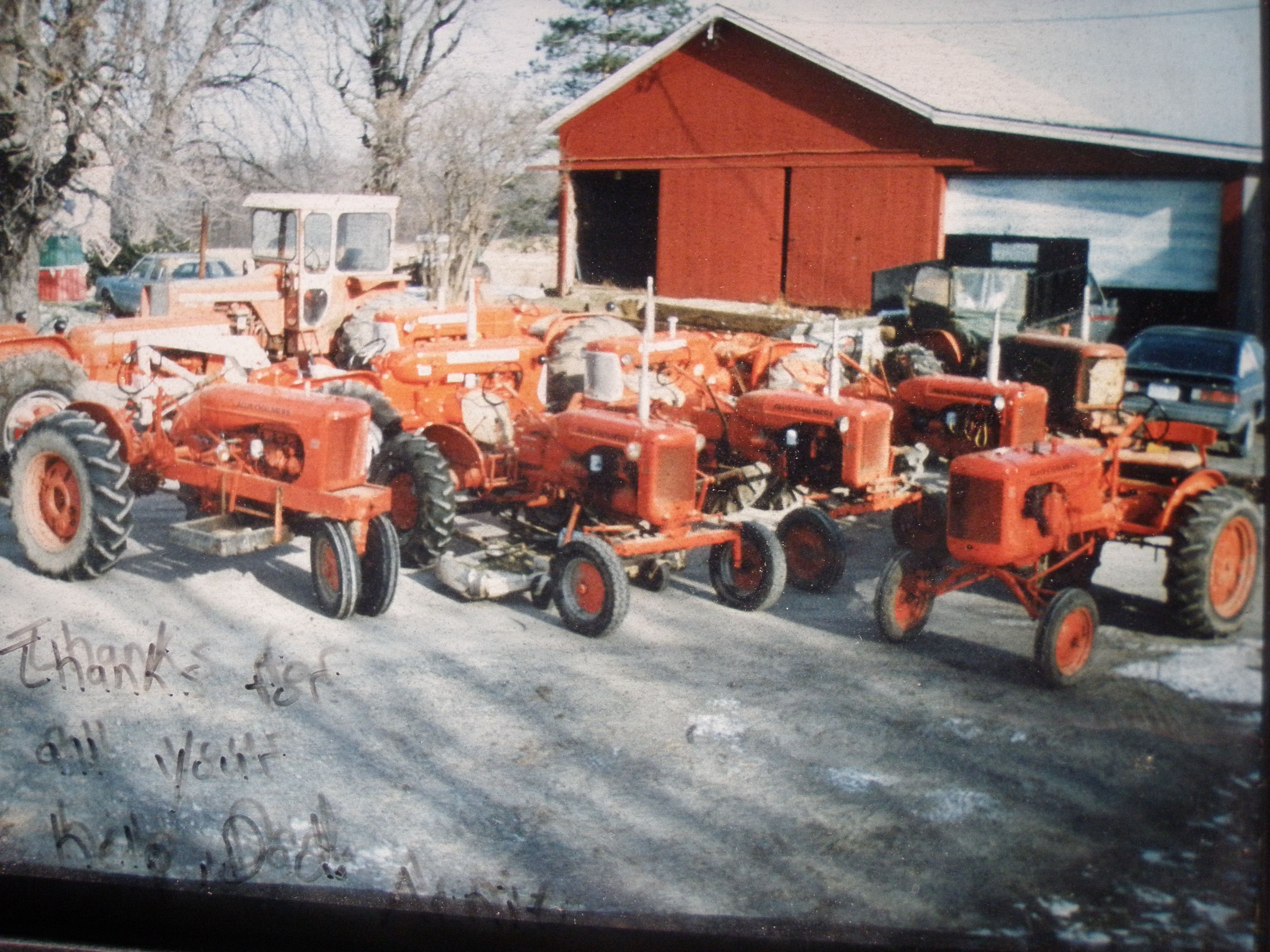 Allis Chalmers Model D15 farm tractor Key Fob