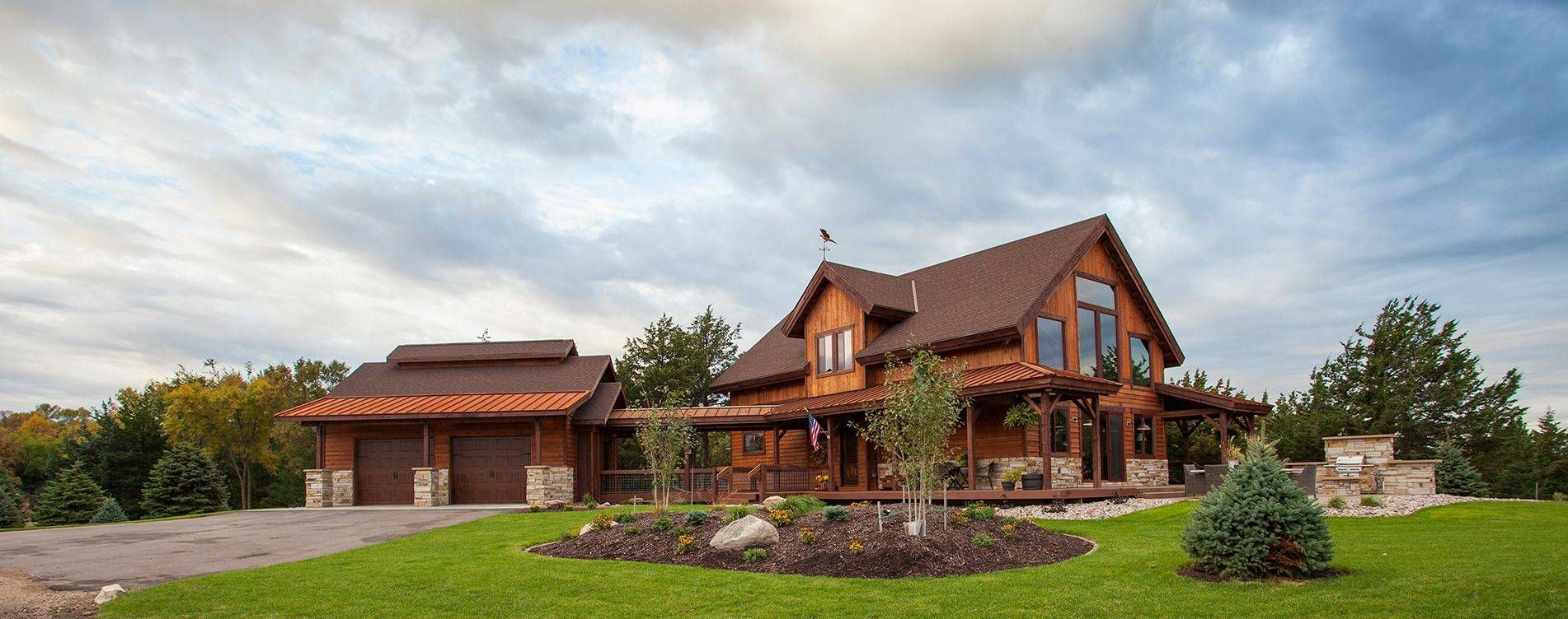 Post And Beam Example1 Barn Home By Sand Creek Post Beam Pole Barn Homes Barn House Log Homes