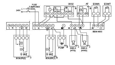 Danfoss BEM 4000 Boiler Energy Manager Heater Service At Wiring Diagram For 2 Zone Heating System