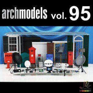 Free down load thư viện 3d max Evermotion Archmodel Vol 95