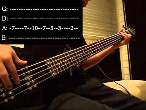 Seven Nation Army Bass Cover With Tab Hd I Learned My First