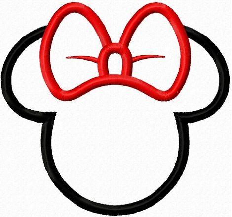 siluetas de minnie mouse para imprimir | Cesta de dulces | Pinterest ...