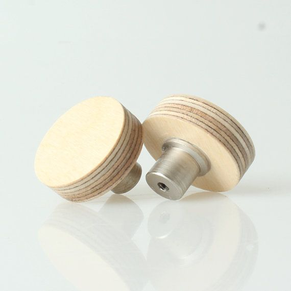 Adorable drawer knobs made from birch plywood! Unfinished or ...