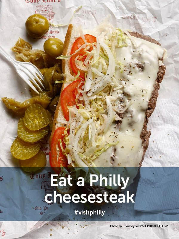 Top 10 Spots For Authentic Philly Cheesesteaks Visitphilly Com Cheesesteak Philly Cheese Steak Philly