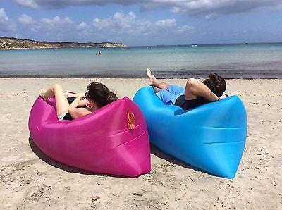 Inflatable Air Bag Sofa Sleeping Camping
