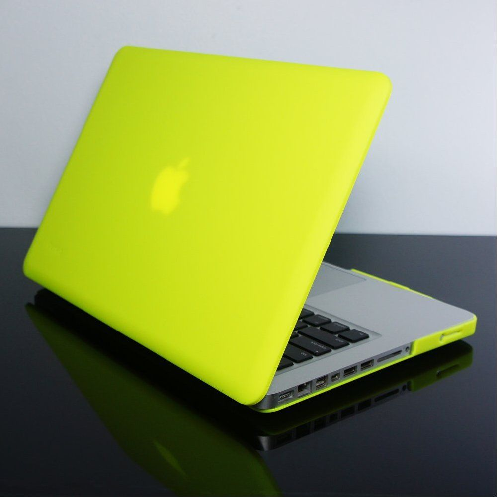 """Matte Chevron YELLOW Hard Case Keyboard Cover for Macbook Air 13/"""" A1369//A1466"""