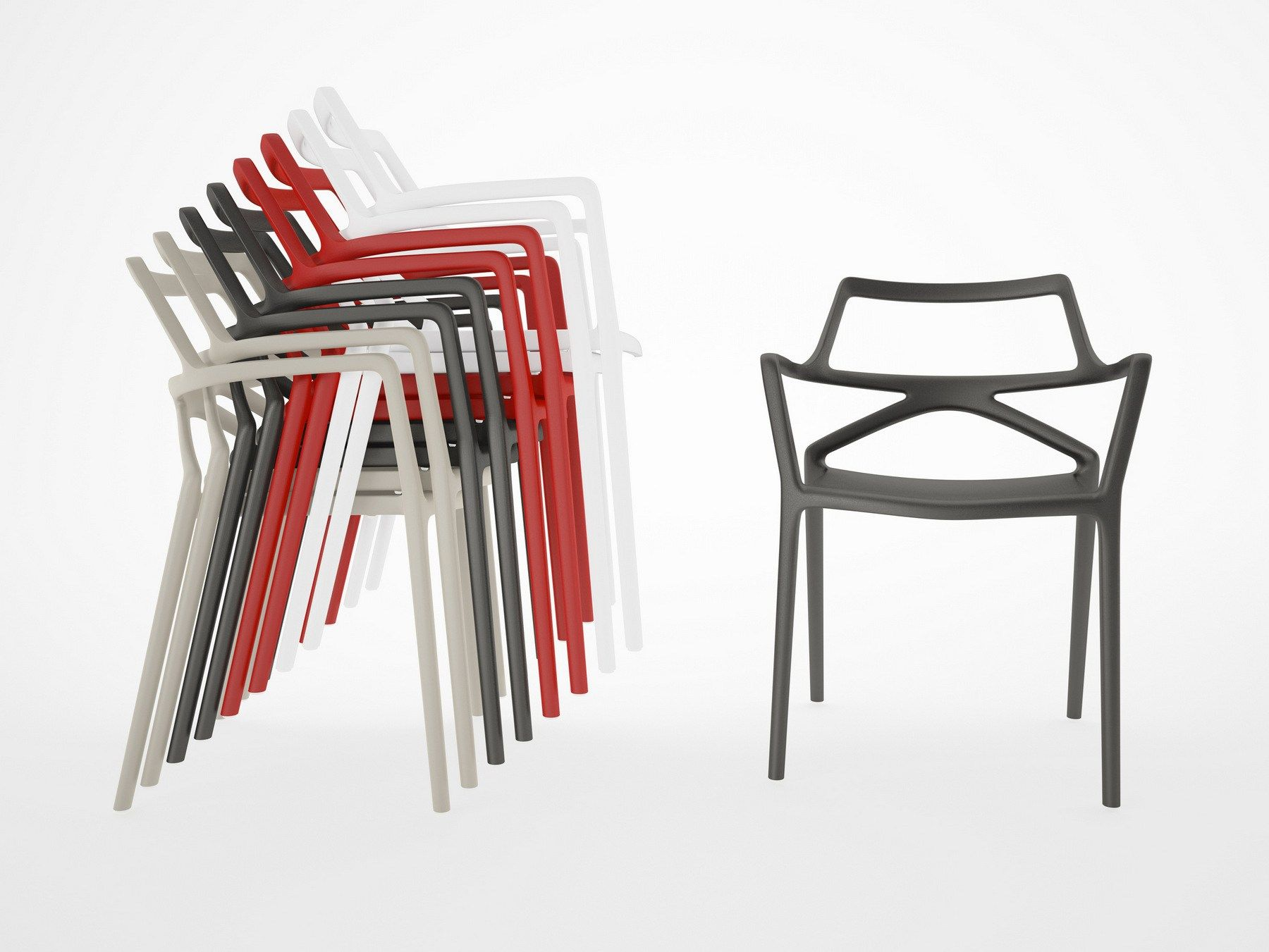 Delta Dining chair. Itu0027s stackable & Delta Dining chair. Itu0027s stackable | Vondom | Pinterest | Dining ...