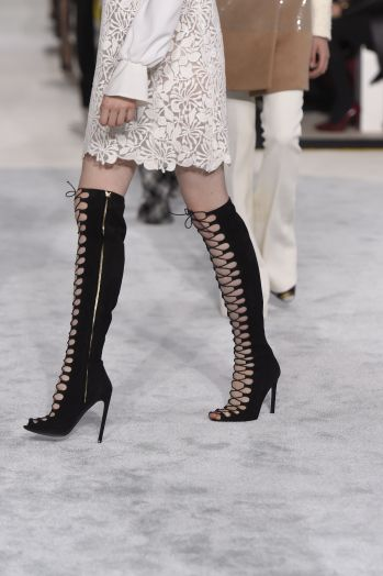 Giambattista Valli Lace-Up Over-the-Knee Boot CN6Vjx4dL