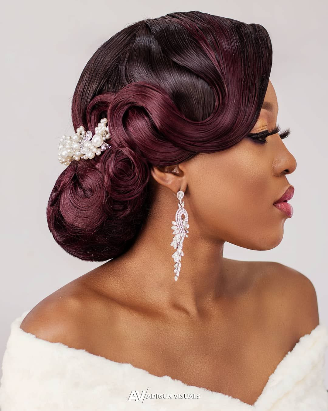 28+ Bridal hairstyles for black brides trends