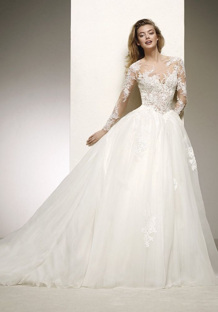Pronovias 2018 Wedding Dress Available at Designer Bridal Room