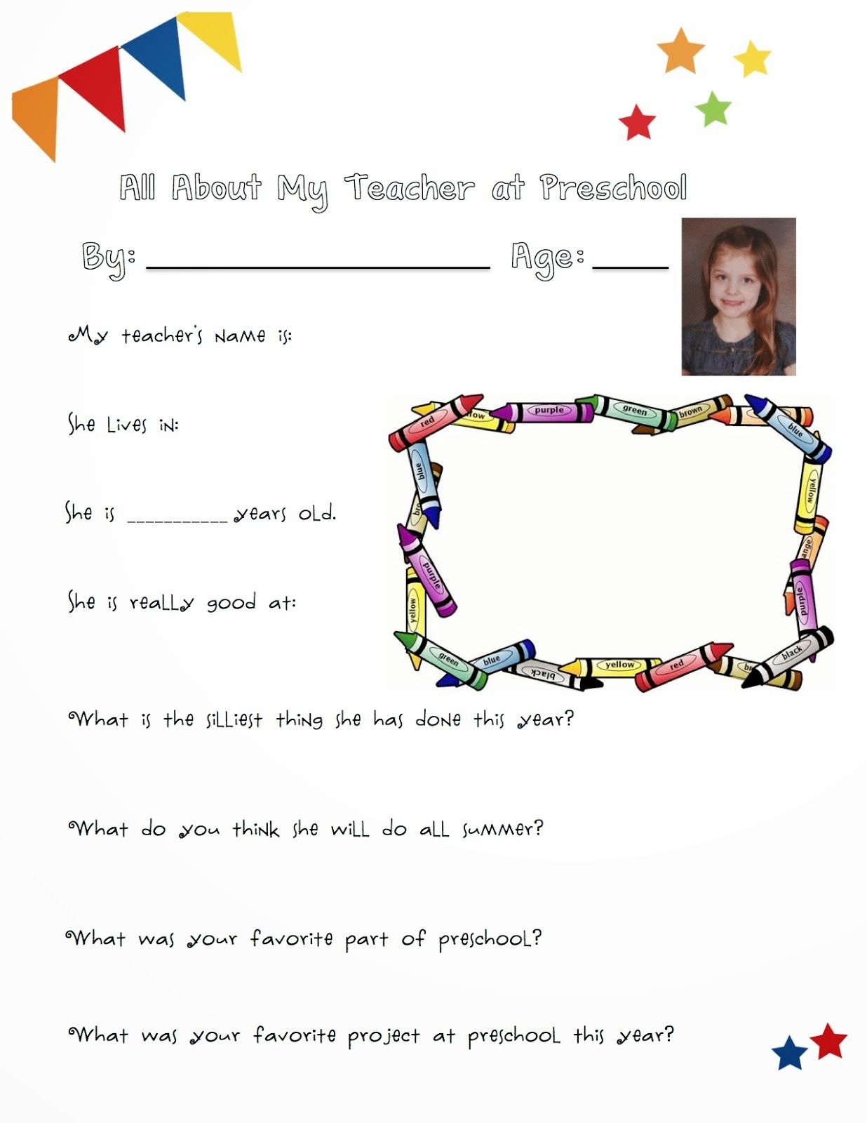 Thoughtful End Of Year Ts Teachers Questionnaire