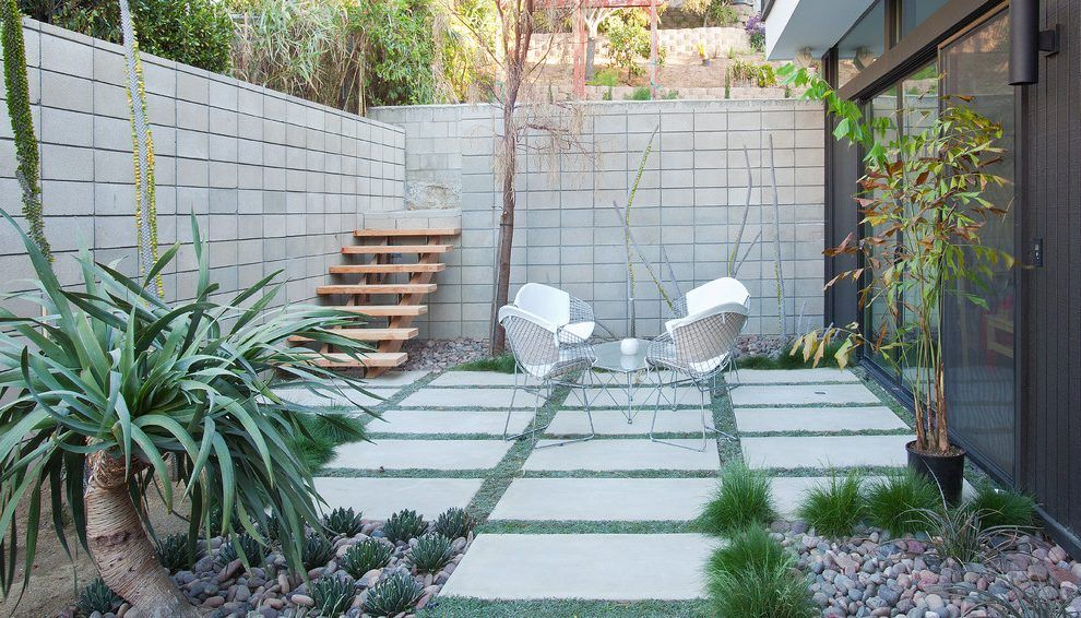 Pin By Son Of The Moon On Garden Modern Landscaping Modern Landscape Design Modern Patio