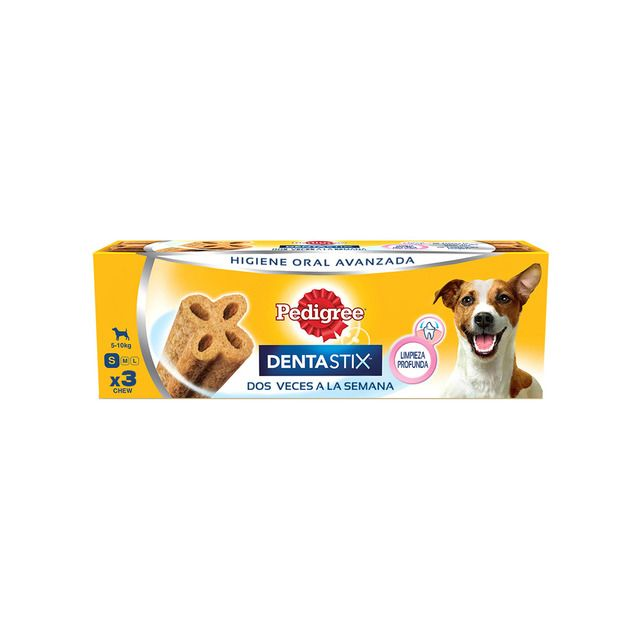 Photo of Merienda para perros pequeños Pedigree Dentastix dos veces por semana 3 unidades