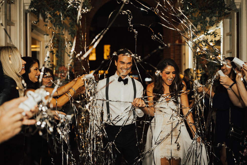 Streamers for Wedding Send Off in 2020 Wedding send off