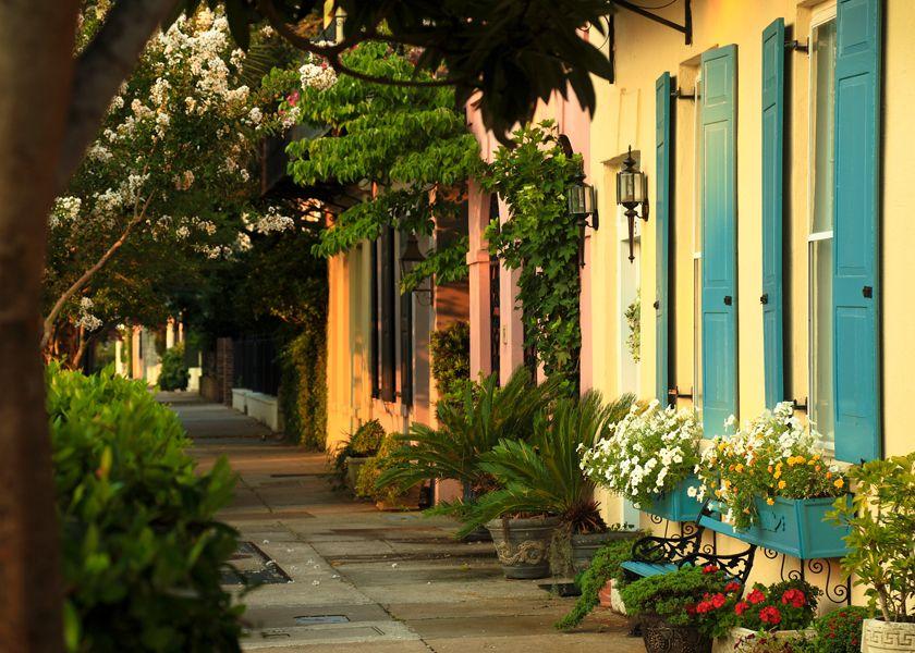 Near Rainbow Row, East Bay Street, Charleston, SC © Doug Hickok All Rights Reserved