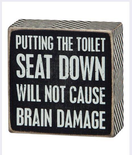 Put The Seat Down Primitive Bathrooms Primitive Bathroom Decor