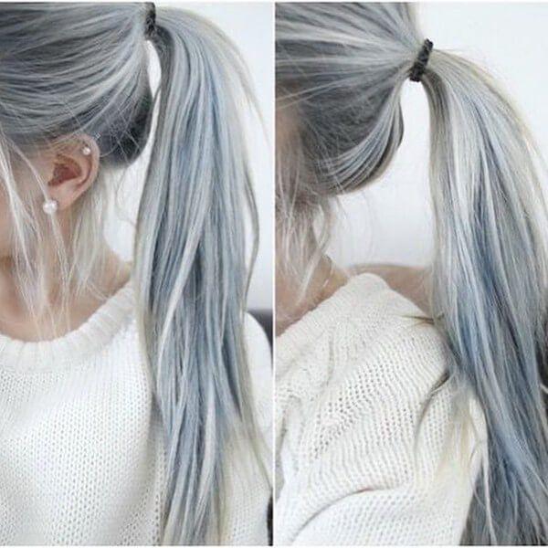 10++ Como pintar el cabello blanco ideas