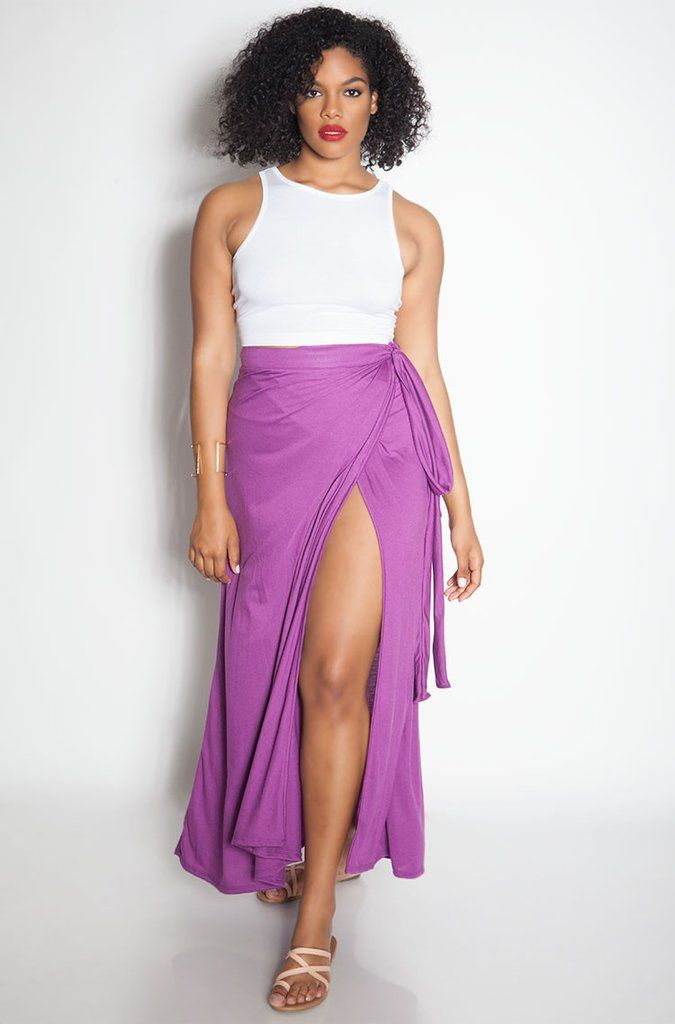 "Rebdolls ""Better Than Yesterday"" Cotton Wrap Skirt"