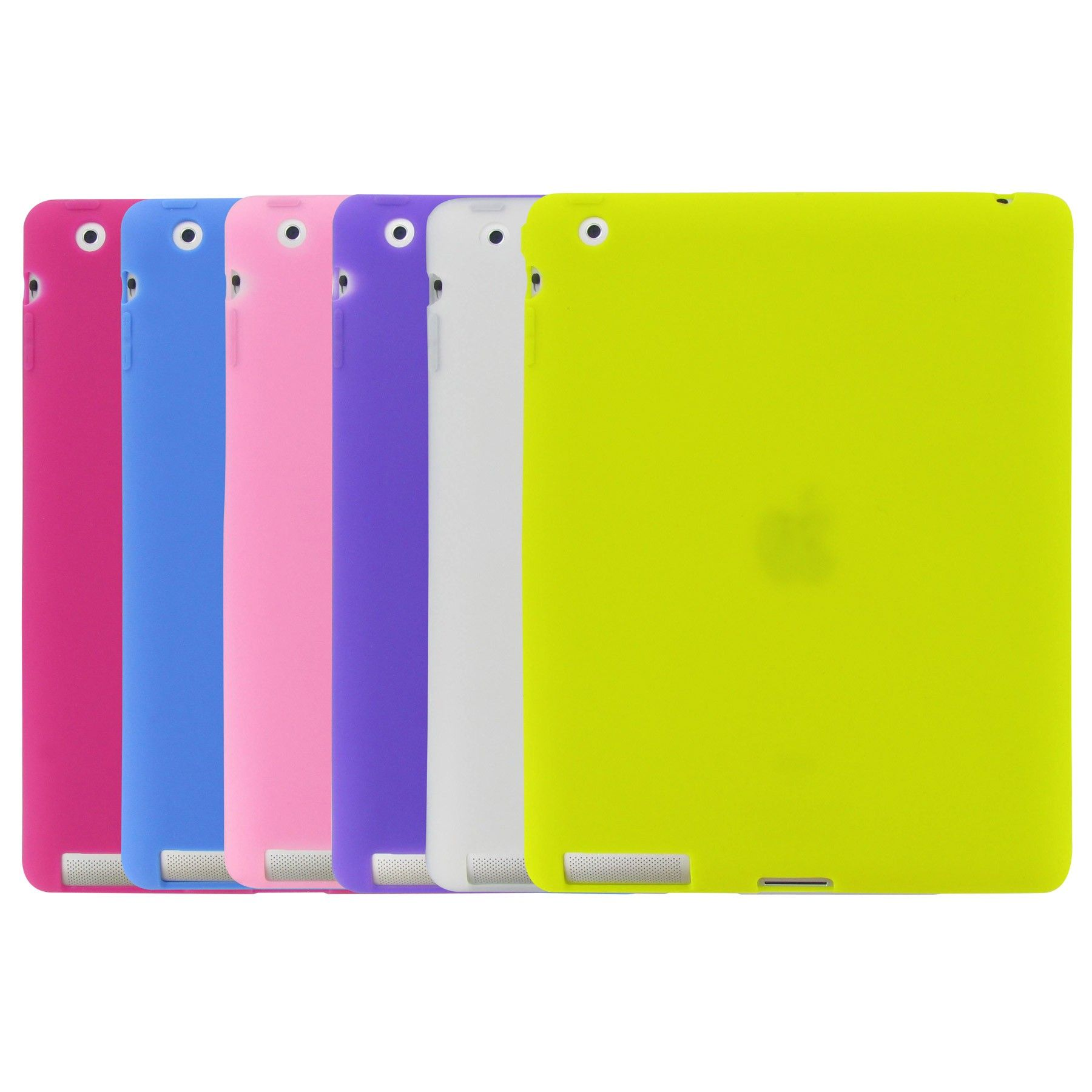 Silicone Case for iPad 2  -Canaletto