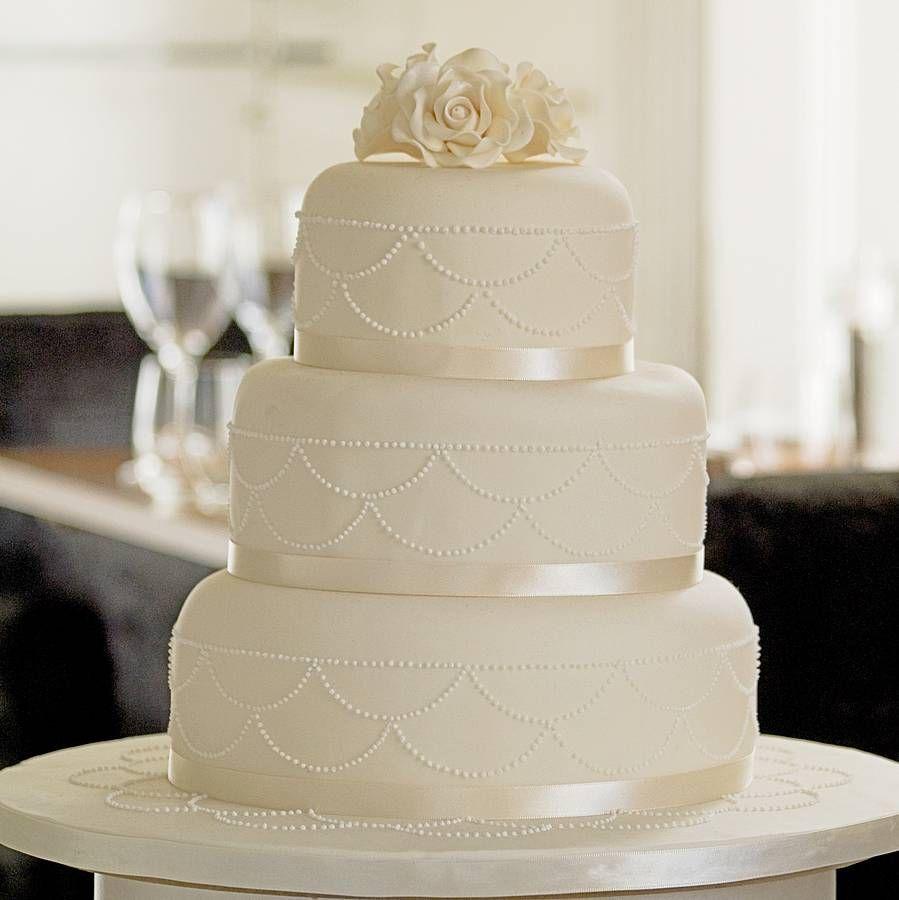 Swag Three Tier Wedding Cake We The ojays and Wedding