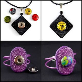 Make Jewelry from clay sculpting that's interchangeable,the skies the limit from rings,necklaces,to earrings and more..You'll love this tutorial.