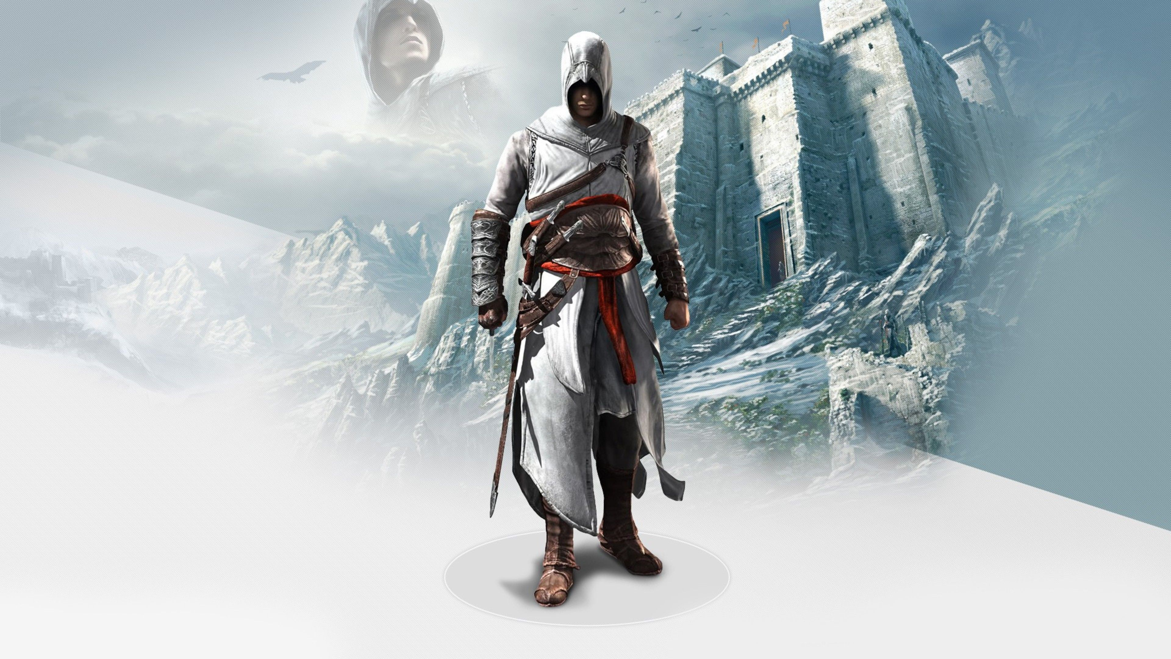 Altair In Assassins Creed 2 4k 4k Hd Wallpapers Assassins Creed 2 Assassins Creed Assassin S Creed Hd
