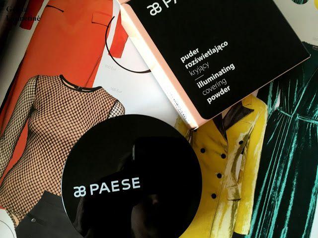 Gėlėta kosmetinė: PAESE Illuminating covering powder (1V warm beige)