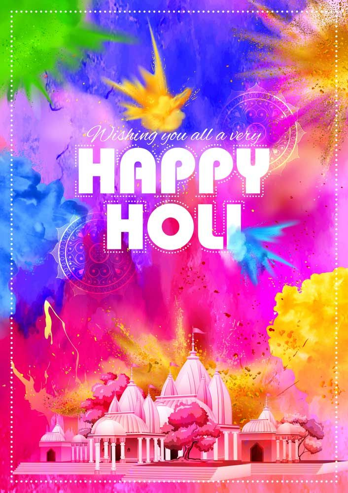 Happy Holi Images & Quotes Latest 30+ HD images Happy