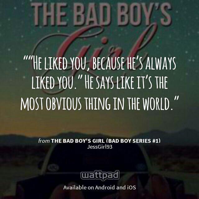 "I'm Reading ""The Bad Boy's Girl (Bad Boy Series #1)"" On"