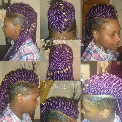 Colour Purple, Boxbraids