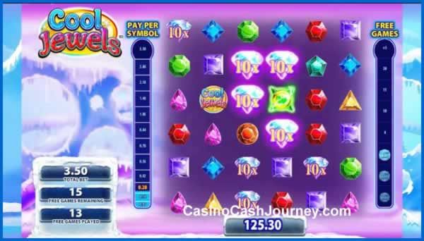 Cool Jewels Slot By Wms Free Spins Bonus Special Wilds Cool