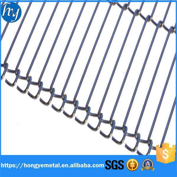 1.8mm Thickness 304SS Stainless Steel Flat Flex Wire Mesh Belt ...