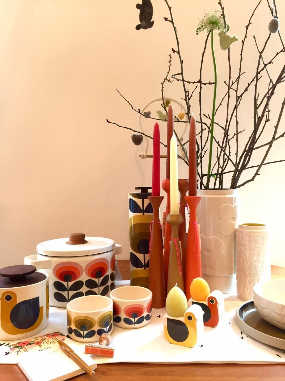 Perfect #Easter table #dishes and #decoration available in our shop, have a Look at https://www.goodshaus.com/Orla-Kiely_2