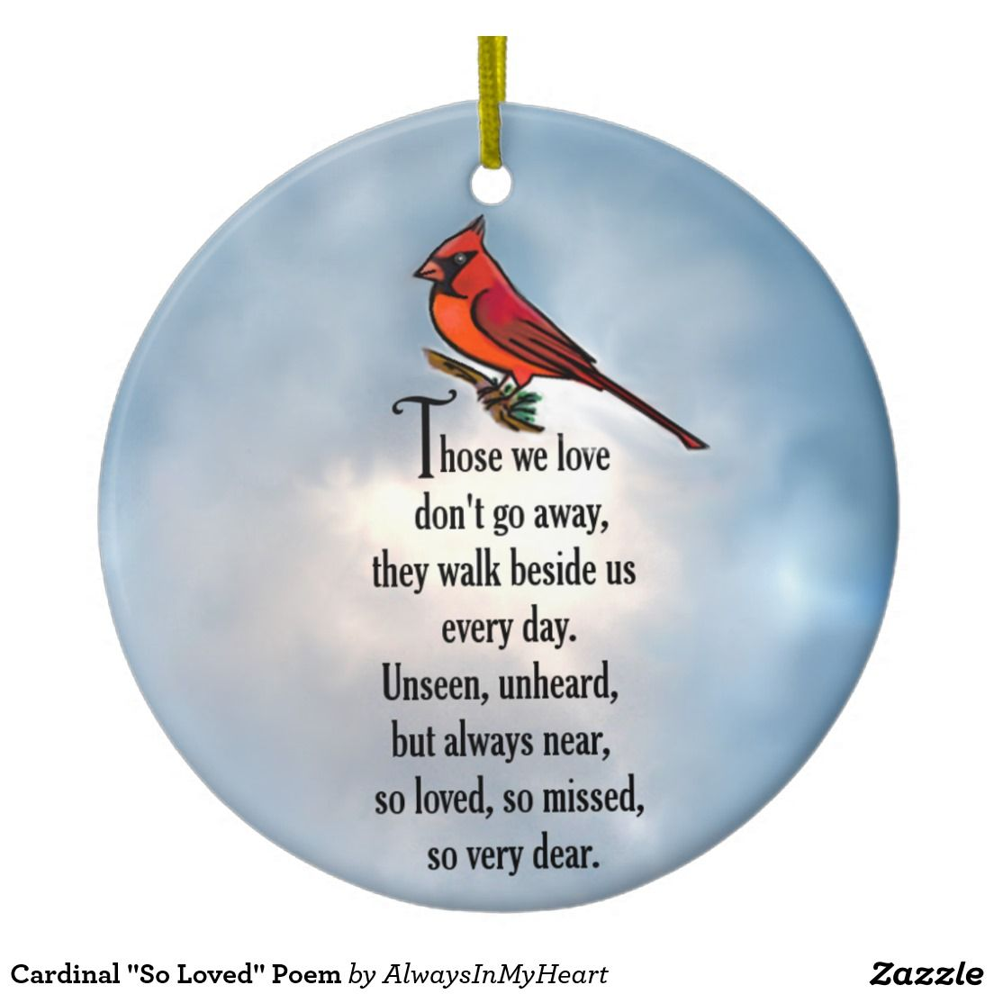 Cardinal Christmas Ornaments Meaning