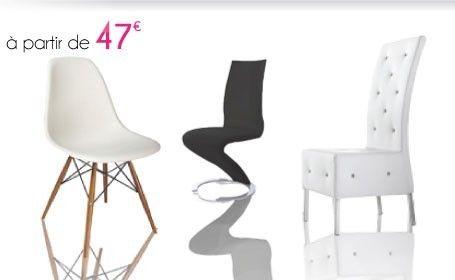 Inspirant Chaises De Salle à Manger Design Pas Cher Décoration - Chaise salle a manger pas cher lot de 4
