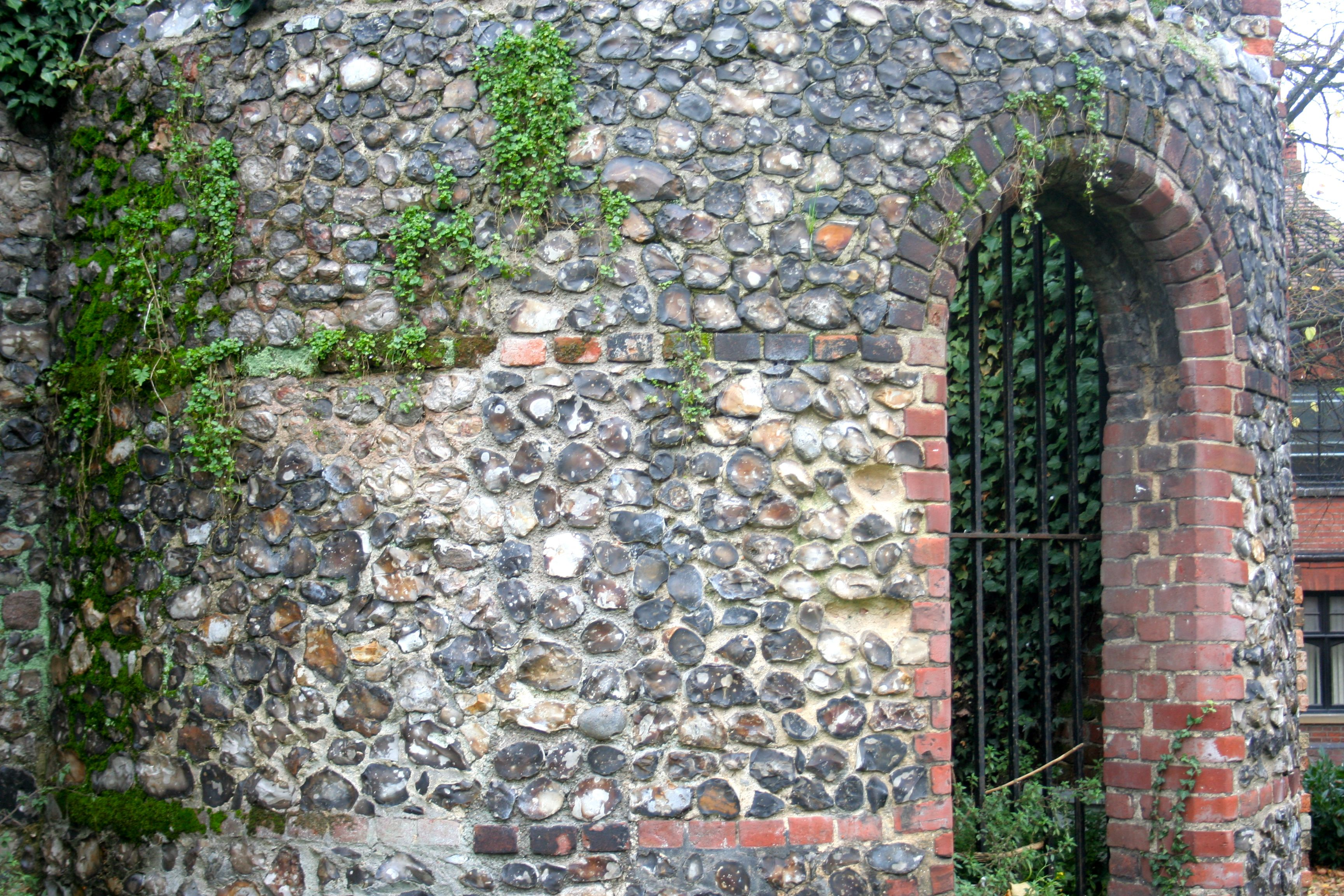 stone and brick archway