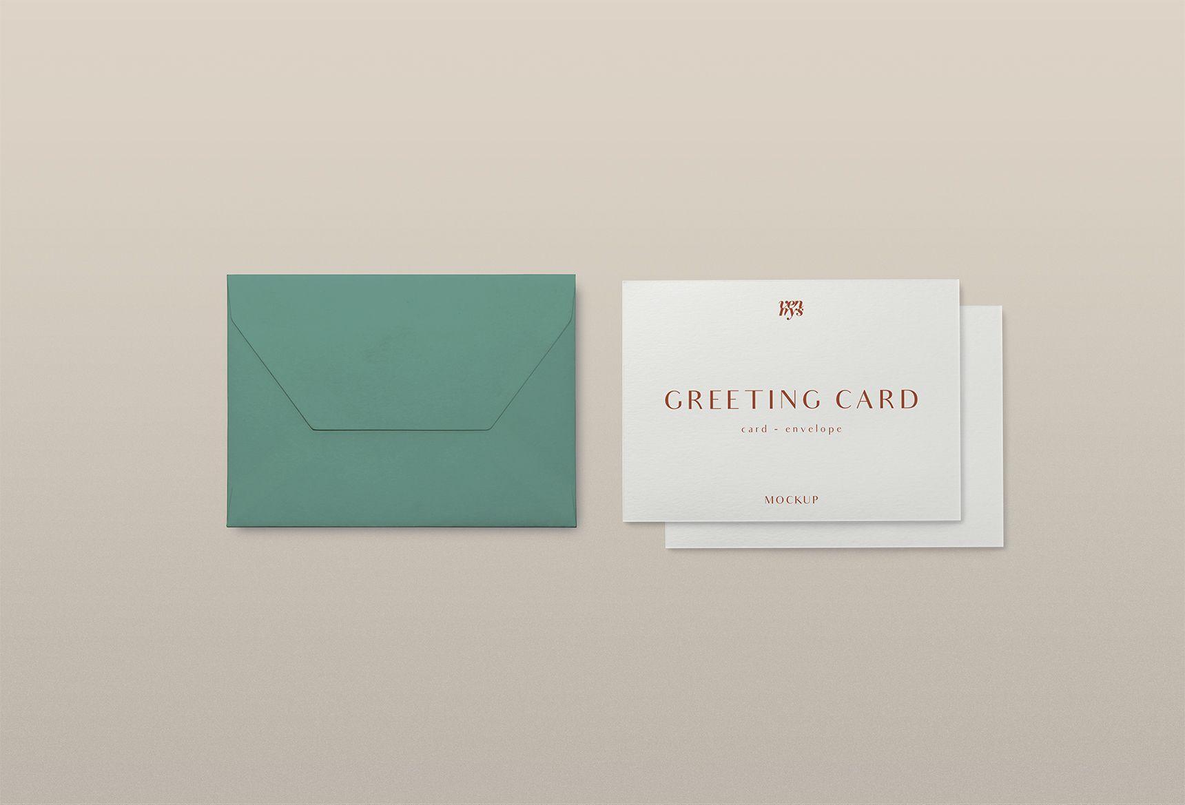 Free Greeting Card Psd Mockup Free Greeting Cards Greeting Cards Greetings