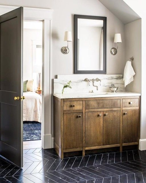 Vendome Single Sconce Bathroom Fixtures Framed Bathroom Mirror Visual Comfort