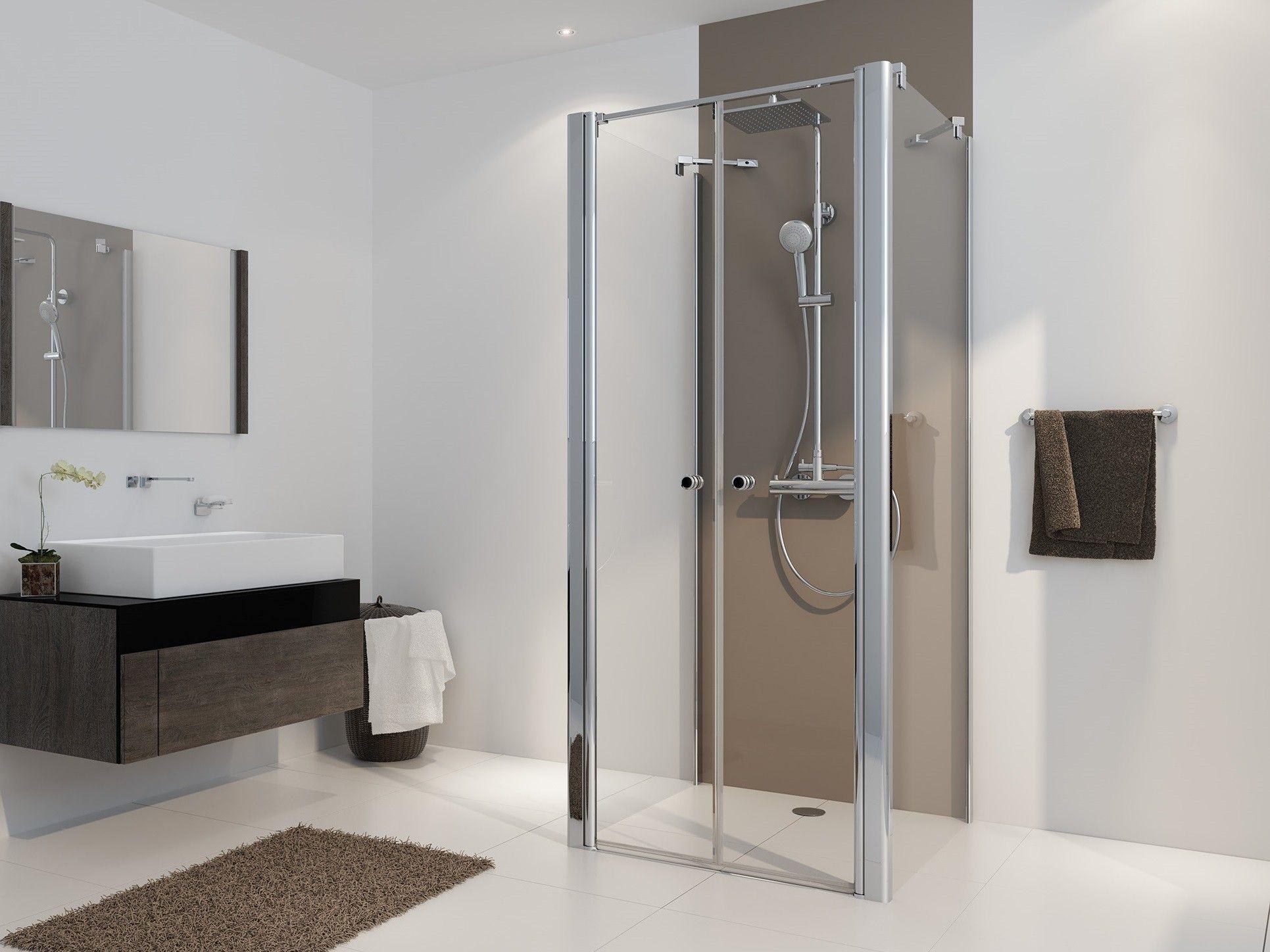 Duschkabine U Form Pendeltur Bad Design Heizung Duschkabine U Form Falttur Dusche Duschabtrennung